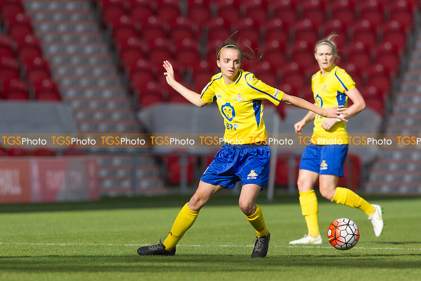 Kasia Lipka (Belles) during Doncaster Rovers Belles vs Notts County Ladies, FA Women's Super League FA WSL1 Football at the Keepmoat Stadium on 16th October 2016