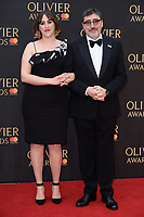 Alfred Molina and daughter<br /> arriving for the Olivier Awards 2018 at the Royal Albert Hall, London<br /> <br /> ©Ash Knotek  D3392  08/04/2018