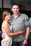 Neil Murphy with his girlfriend Mirium Butterly at his 30th in Bru...(Photo credit should read Jenny Matthews www.newsfile.ie)....This Picture has been sent you under the conditions enclosed by:.Newsfile Ltd..The Studio,.Millmount Abbey,.Drogheda,.Co Meath..Ireland..Tel: +353(0)41-9871240.Fax: +353(0)41-9871260.GSM: +353(0)86-2500958.email: pictures@newsfile.ie.www.newsfile.ie.