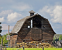Old Barn, Grand Tetons, Tetonia, Idaho