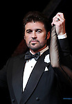 Amy Spanger with Billy Ray Cyrus making his Broadway Debut Curtain Call  in 'Chicago' at the Ambassador Theatre in New York City on 11/05/2012