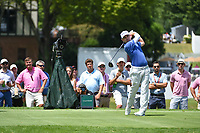 Louis Oosthuizen (RSA) watches his tee shot on 4 during round 2 of the 2019 Tour Championship, East Lake Golf Course, Atlanta, Georgia, USA. 8/23/2019.<br /> Picture Ken Murray / Golffile.ie<br /> <br /> All photo usage must carry mandatory copyright credit (© Golffile | Ken Murray)