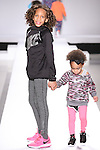 Models walk runway in outfits from the during the Kids Rock fashion show presented by Haddad Brands, during Mercedes-Benz Fashion Week Fall 2015.