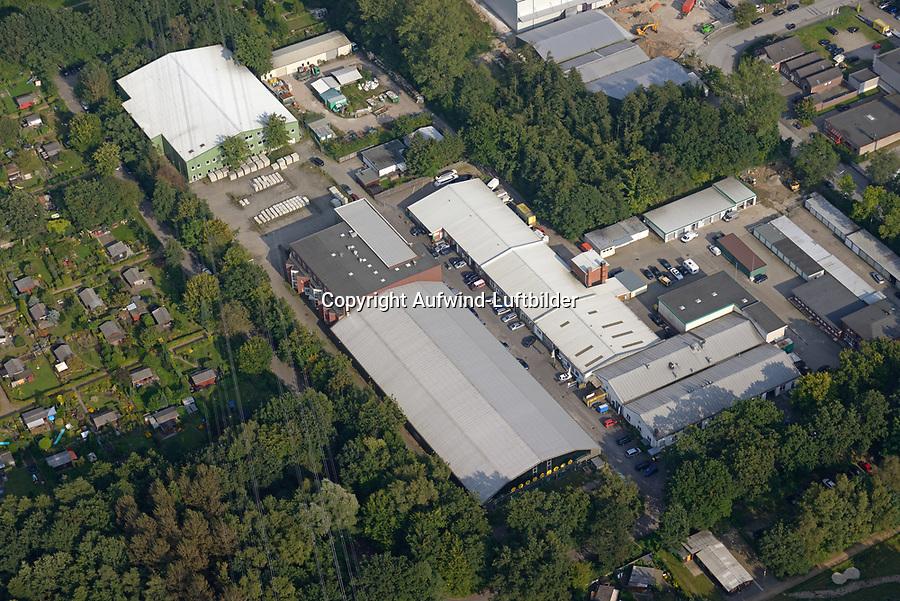 Gewerbegebiet  Havighorster Weg: EUROPA, DEUTSCHLAND, HAMBURG, (EUROPE, GERMANY), 29.08.2017:  Gewerbegebiet  Havighorster Weg