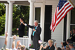 May 4, 2008. Morganton, NC.. Just 2 days before the North Carolina primary, former president Bill Clinton campaigned across rural western North Carolina, stumping for his wife. Senator Hillary Clinton, in her drive for rural and working class votes.. Former president Clinton gave a wide ranging speech covering health care, the gas tax, college funding relief, and bringing jobs back to the rural US.