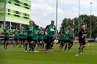 GRONINGEN - Voetbal, Eerste training FC Groningen, Corpus den Hoorn, seizoen 2019-2020, 22-06-2019, warming up