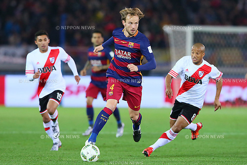 Ivan Rakitic (Barcelona), <br /> DECEMBER 20, 2015 - Football / Soccer : <br /> FIFA Club World Cup Japan 2015 <br /> Final match between River Plate 0-3 Barcelona  <br /> at Yokohama International Stadium in Kanagawa, Japan.<br /> (Photo by Yohei Osada/AFLO SPORT)