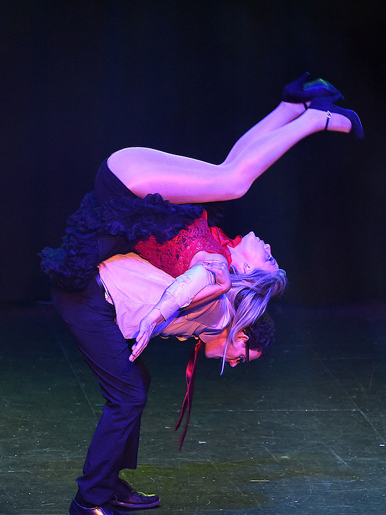 Colm Markey and Sarah Gray who took part in the Naomh Fionnbarra Strictly Come Dancing in the TLT. Photo:Colin Bell/pressphotos.ie