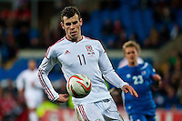 Wednesday 05 March 2014<br /> Pictured:Gareth Bale <br /> Re: International friendly Wales v Iceland at the Cardiff City Stadium, Cardiff,Wales UK