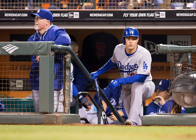 Los Angeles Dodgers vs. San Francisco Giants at AT&T Park, September 13, 2014