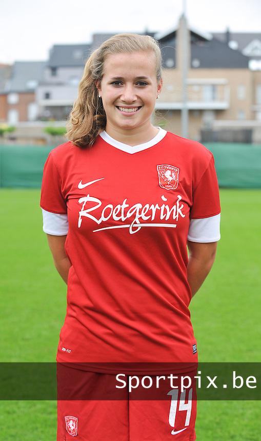 FC Twente Dames : Tessa Klein Braskamp.foto DAVID CATRY / Vrouwenteam.be