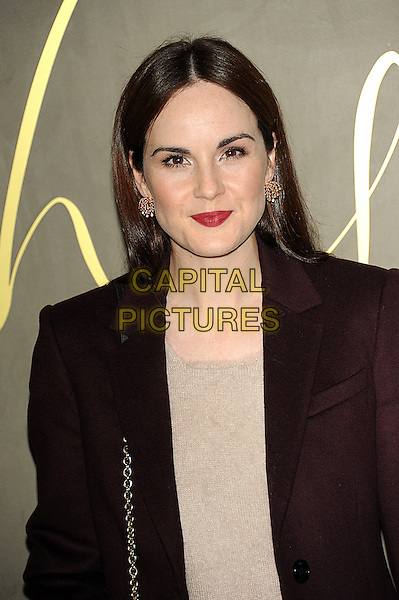 LONDON, ENGLAND - NOVEMBER 3: Michelle Dockery attends the Burberry Festive Film Premiere at Burberry Regent Street on November 3, 2015 in London, England.<br /> CAP/CJ<br /> &copy;CJ/Capital Pictures