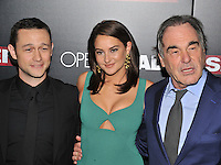 New York,NY-September 13: Joseph Gordon-Levitt, Shailene Woodley, Oliver Stone attends the 'Snowden' New York premiere at AMC Loews Lincoln Square on September 13, 2016 in New York City. @John Palmer / Media Punch