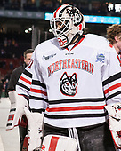Jake Theut (NU - 1) - The Northeastern University Huskies and University of New Hampshire Wildcats tied 2-2 on Saturday, January 14, 2017, at Fenway Park in Boston, Massachusetts.