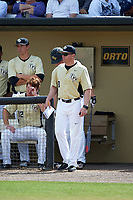 UCF Knights assistant coach Ryan Klosterman (8) during a game against the Siena Saints on February 21, 2016 at Jay Bergman Field in Orlando, Florida.  UCF defeated Siena 11-2.  (Mike Janes/Four Seam Images)