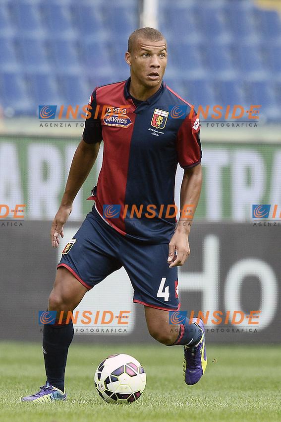 Sebastian De Maio Genoa <br /> Genova 21-09-2014 Stadio Luigi Ferraris - Football Calcio Serie A Genoa - Lazio. Image Sport / Foto Insidefoto