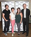 Jake Gyllenhaal, Michelle Gomez, Annie Funk and Brian F. O'Byrne.attending the Meet & Greet for the Roundabout Theatre Company Production of 'If There Is I Haven't Found it Yet'.at their rehearsal studios in New York City on 7/25/2012