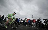 Peter Sagan (SVK/Cannondale) on pav&eacute; sector 6<br /> <br /> 2014 Tour de France<br /> stage 5: Ypres/Ieper (BEL) - Arenberg Porte du Hainaut (155km)