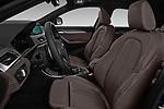 Front seat view of a 2018 BMW X2 M Sport X 5 Door SUV front seat car photos