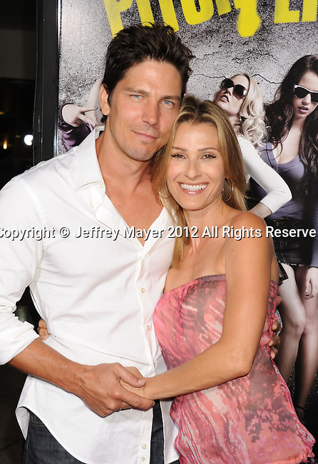 HOLLYWOOD, CA - SEPTEMBER 24: Michael Trucco and guest attend the 'Pitch Perfect' - Los Angeles Premiere at ArcLight Hollywood on September 24, 2012 in Hollywood, California.
