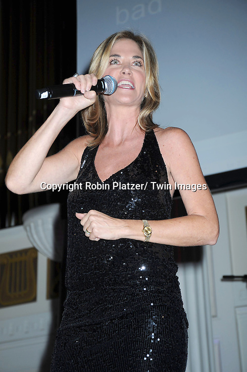 "Kassie DePaiva singing at The The Center for Hearing and Communication Centennial  ""Hear for the Future"" Gala on October 18, 2010 at 583 Park Avenue in New York City."