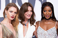 Natalia Vodianova, ,Carla Bruni, Naomi Campbell at the 2018 Fashion For Relief gala during the 71st Cannes Film Festival, held at Aeroport Cannes Mandelieu in Cannes, France.<br /> CAP/NW<br /> &copy;Nick Watts/Capital Pictures