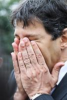SÃO PAULO,SP,06.11.2013:HADDAD/CONJUNTO HABITACIONAL/VISITA - O prefeito de São Paulo, Fernando Haddad, visita Conjunto Habitacional Água Branca, localizado na Rua Capitão Francisco Teixeira Nogueira, em São Paulo, SP, na manhã desta quarta-feira (6). Foto: Geovani Velasquez/Brazil Photo Press
