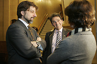 Montreal (Qc) CANADA - March 23 2010 - Montreal  city council meetings held inside the City Hall, Richard Bergeron,