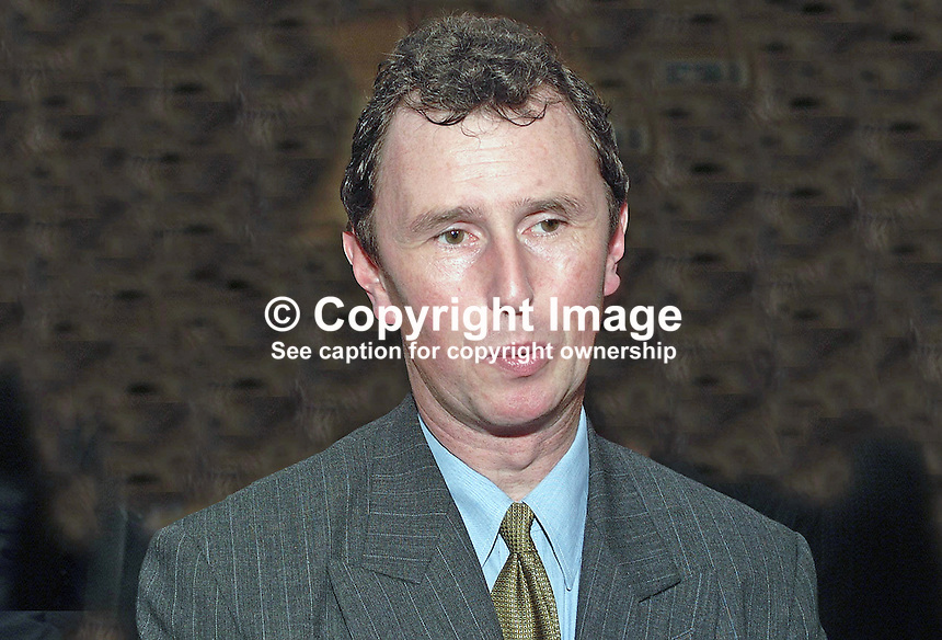 Nigel Evans, MP, Conservative Party, Britain, UK, Annual Conference, Blackpool, 200110104303.<br />