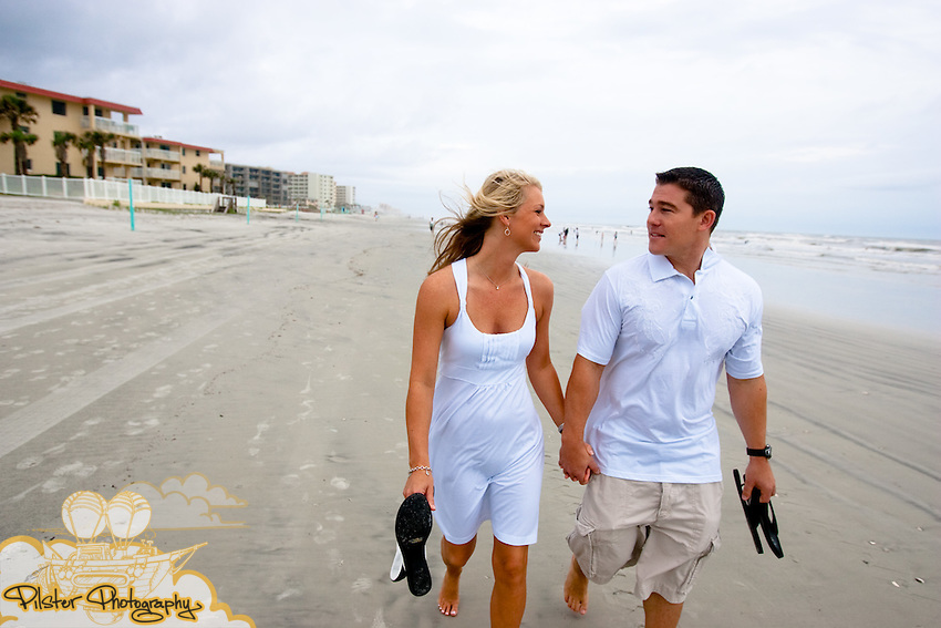 Beth McDowell and Kyle Sherrit during their e-session on Saturday, May 23, 2009, in downtown New Smyrna Beach. The (Chad Pilster, PilsterPhotography.net)