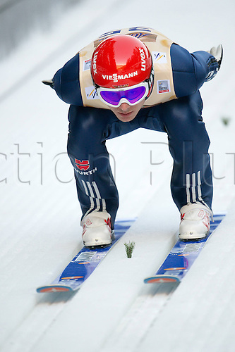 13.12.2013 Titisee-Neustadt Germany. Mens World Cup Ski-Jumping Training and Qualification. WANK Andreas (GER)