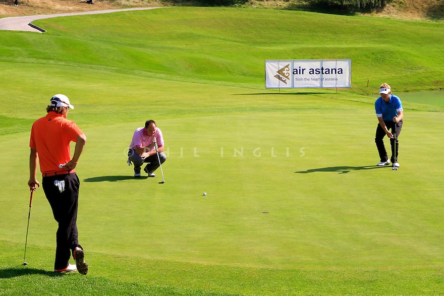 Jamie McLeary (SCO) during the final round of the Kazakhstan Open played at Zhailjau Golf Resort, Almaty on September 16, 2012 in Almaty, Kazakhstan.(Picture Credit / Phil Inglis)
