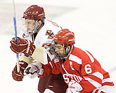 Paul Carey (BC - 22), Joe Pereira (BU - 6) - The Boston College Eagles defeated the visiting Boston University Terriers 5-2 on Saturday, December 4, 2010, at Conte Forum in Chestnut Hill, Massachusetts.