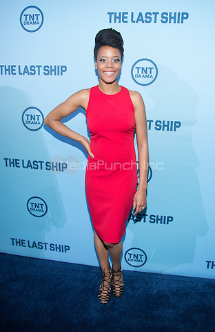 WASHINGTON, DC - JUNE 4: Actress Christina Elmore attends The Last Ship premiere screening, a partnership between TNT and the U.S. Navy on June 4, 2014 in Washington, D.C. Photo Credit: RTNMelvin/MediaPunch.