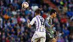 Real Sociedad's Juanmi and Real Valladolid's Fernando Calero during La Liga match. March 31, 2019. (ALTERPHOTOS/Manu R.B.)