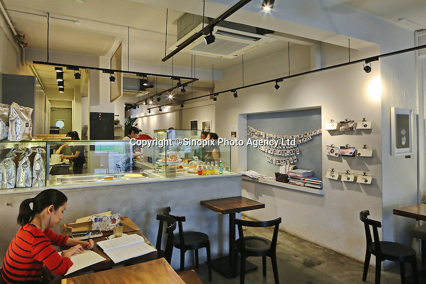 The Flock Cafe on the popular Tiong Bahru Cafe street in Singapore.