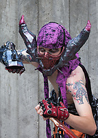 Psycho Cosplay, Pax Prime 2015, Seattle, Washington State, WA, America, USA.