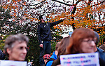 "UNITED STATES, NEW YORK,  November 20, 2011..Protesters affiliated with the Occupy Wall Street movement take part of a protest near Mayor Michael Bloomberg's Upper East Side mansion in New York November 20, 2011. VIEWpress /Kena Betancur..Occupy Wall Street protesters who were kicked out of their downtown ""home"" last week moved uptown Sunday, to lay siege to Mayor Bloomberg's swank Upper East Side townhouse with drumming and chanting..Local media report.."
