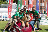 Tigers fans in the fan zone before the fixture between Pakistan vs Bangladesh, ICC World Cup Cricket at Lord's Cricket Ground on 5th July 2019