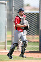 Mark Fleury, Cincinnati Reds minor league spring training..Photo by:  Bill Mitchell/Four Seam Images.