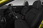 Front seat view of a 2018 Hyundai Kona Luxury Launch 5 Door SUV front seat car photos