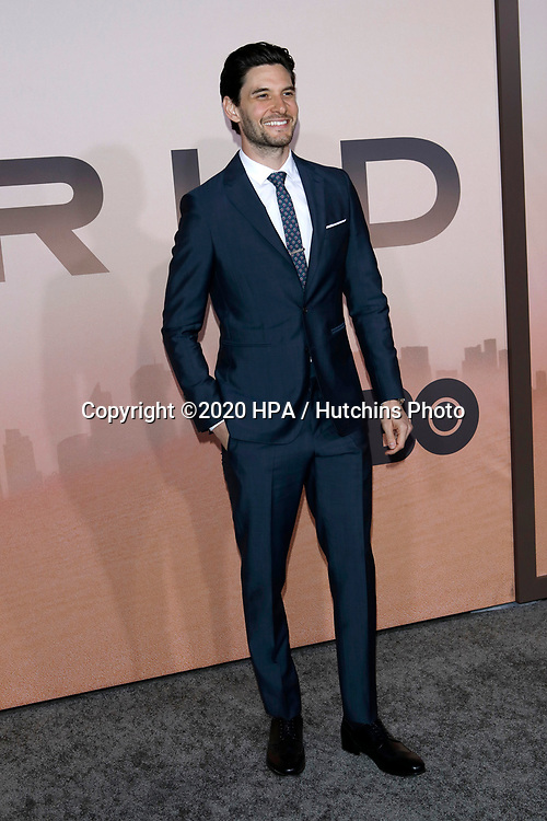 """LOS ANGELES - MAR 5:  Ben Barnes at the """"Westworld"""" Season 3 Premiere at the TCL Chinese Theater IMAX on March 5, 2020 in Los Angeles, CA"""