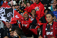 Action during the round two Super Rugby match between the Crusaders and the Chiefs at AMI Stadium in Christchurch, New Zealand on Saturday, 24 February 2018. Photo: Martin Hunter/ lintottphoto.co.nz
