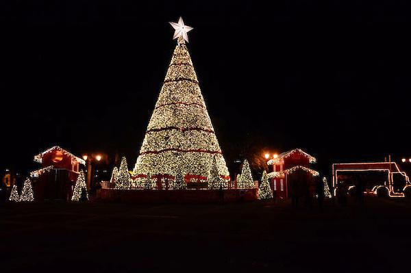 Luces de Navidad en Santo Domingo
