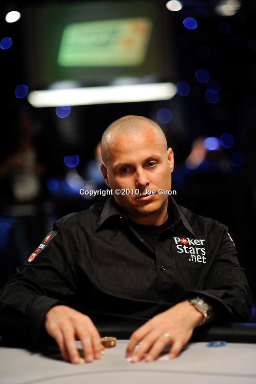 Team Pokerstars.net Canada Pro Marcello Del Grosso.