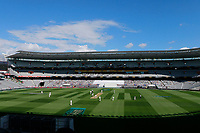 General view, New Zealand Black Caps v England. Day 1 of the day-night, pink ball cricket test match at Eden Park in Auckland. 22 March 2018. Copyright Image: William Booth / www.photosport.nz