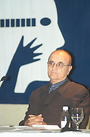 Montreal, august 6th, 2001<br /> Montreal World Film Festival's President & founder ; <br /> Serge Losique, announce this years Festival's program at a press conference, August 6th, 2001 in Montreal, CANADA.<br /> <br /> This year mark the 25th anniversary of the Montreal World Film Festival<br /> Photo by Pierre Roussel / I Photo<br /> NOTE : raw jpeg from Nikon D 1, openened with QUIMAGE ICC profile