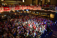 COLUMBUS, OH - US Soccer Pep Rally at the Blue Wave .