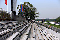 May 30, 2013; Englishtown, NJ, USA: NHRA overall view down the grandstands Raceway Park. Mandatory Credit: Mark J. Rebilas-