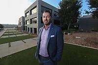 Nov. 14, 2019. San Diego, CA.  NuVasive's CEO Chris Barry.   Photos by Jamie Scott Lytle. Copyright.